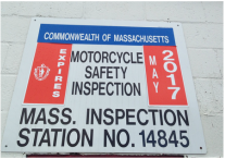 Left: April 2001 expiration inspection