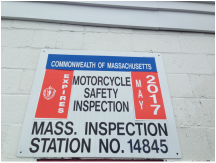 Motorcycle Inspection Station in Lynn, MA